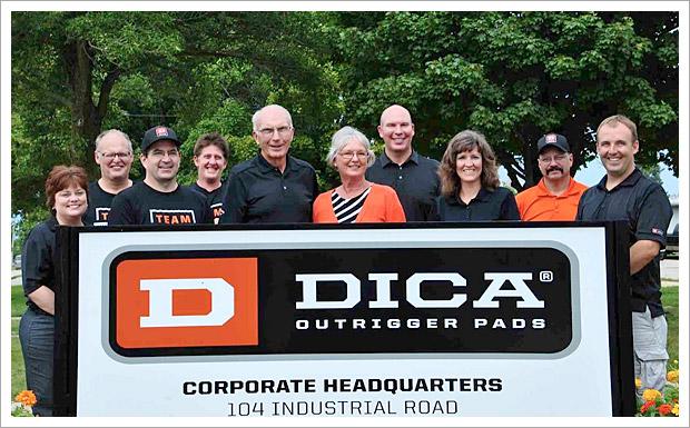 DICA outrigger pads
