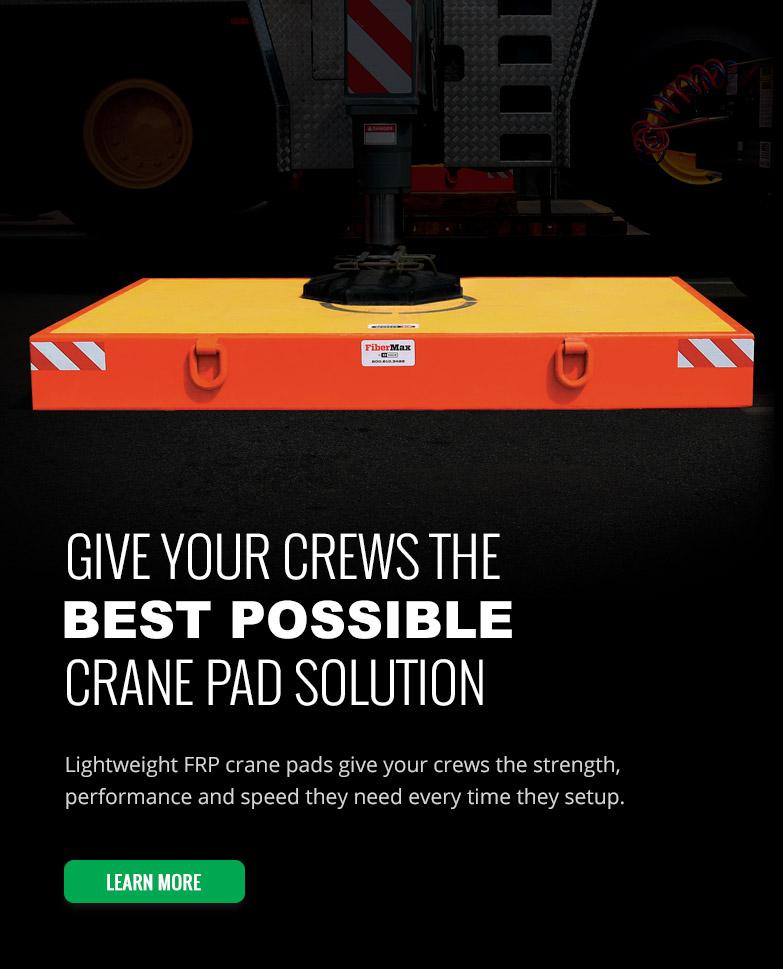 Crane Pads | Crane Mats | Crane Outrigger Pads for Sale | DICA
