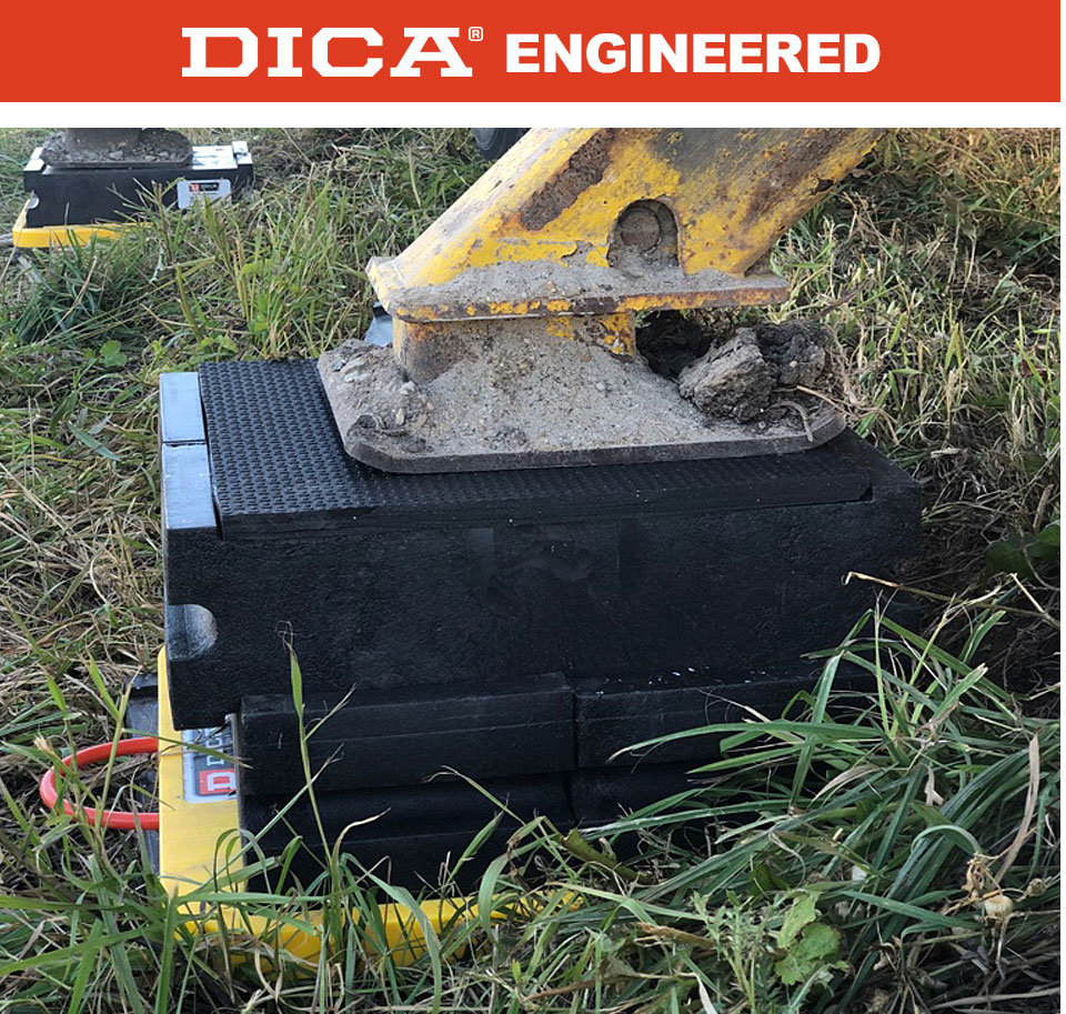 DICA Engineered ProStack Slot Lock Cribbing Blocks